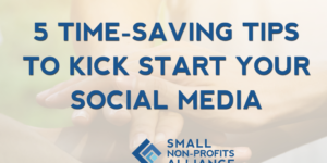 social media tips for small charities