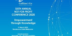 Not for Profit Conference 2020 Melbourne Australia